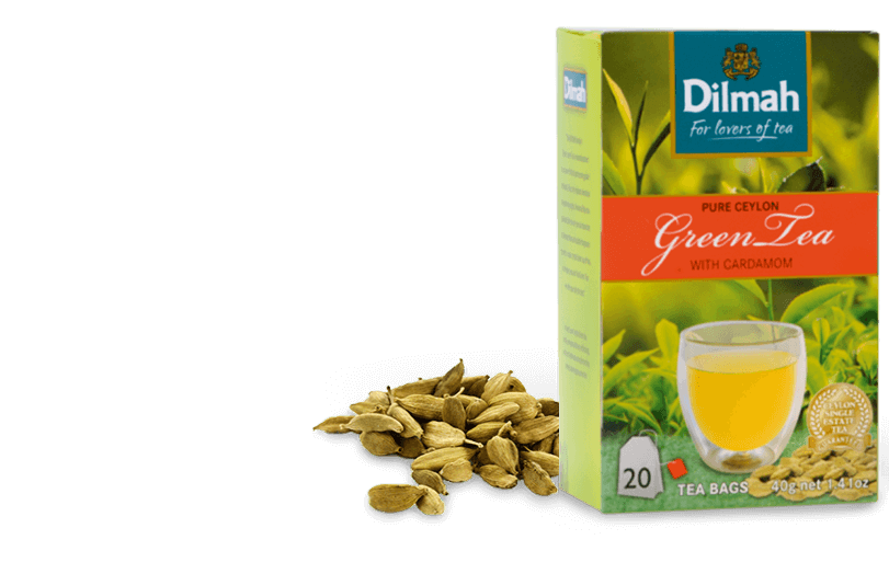 Pack of Green Tea with Cardamom