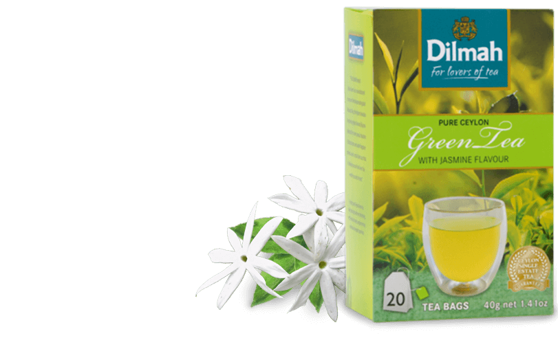 Pack of Green Tea with Jasmine Flowers