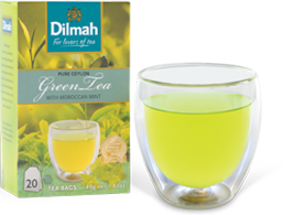 Green Tea and Pack of Green Tea by Dilmah