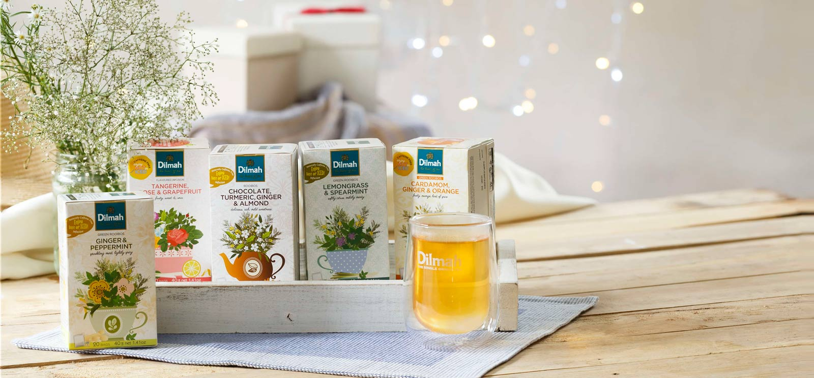 Herbal Infusion and Fruit Tea from Dilmah