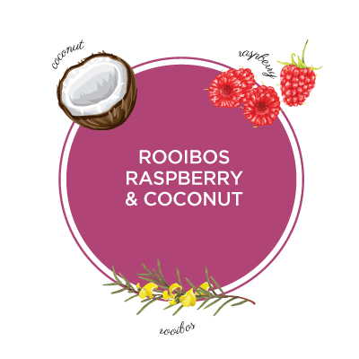 Red Rooibos Raspberry & Coconut