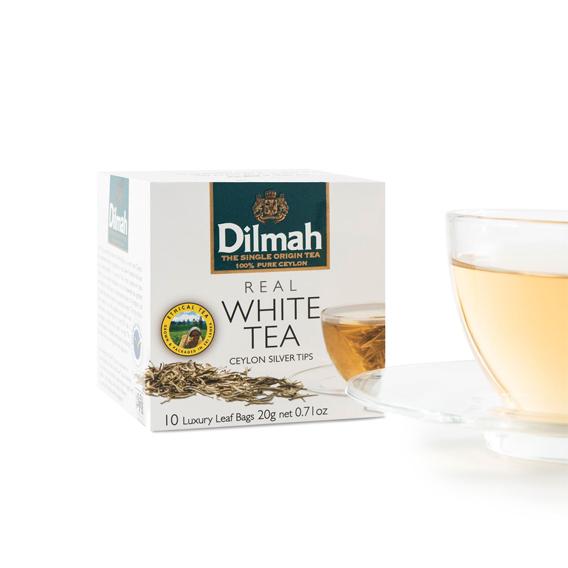 Dilmah Real White Tea – Ceylon Silver Tips