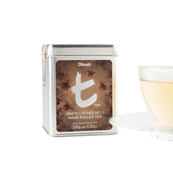 White Litchee no.1 hand rolled tea