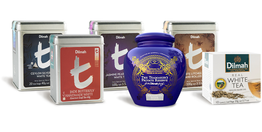 Different Types of White Tea by Dilmah Real White Tea