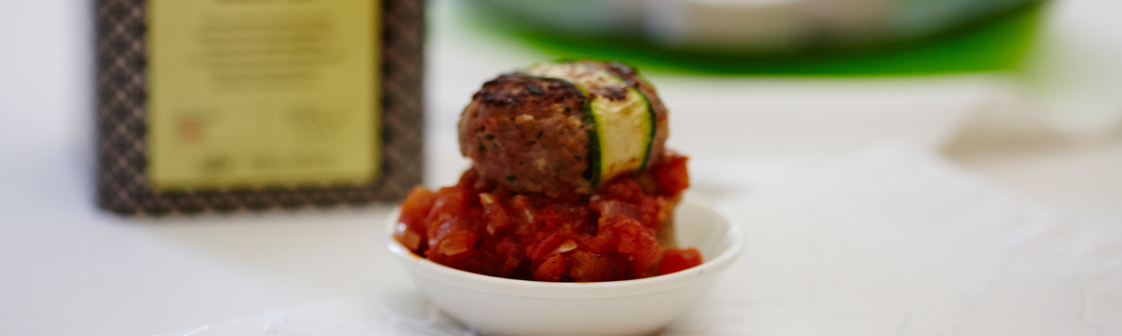 Lamb Kofta with Tea Crumpets