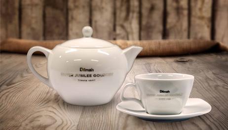 Dilmah Teapot and a Dilmah Tea Cup