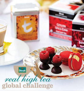 Launch of Dilmah Real High Tea Consumer and Professional Challenge in Australia