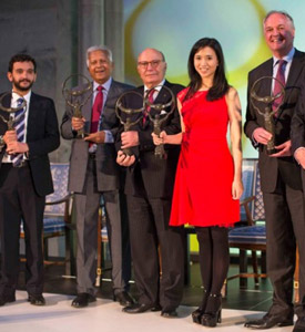 Dilmah Founder Merrill J. Fernando received the Business for Peace Award, Oslo