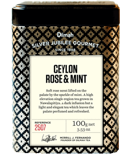 Container of Rose & Mint by Dilmah