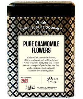 Container of Pure Chamomile Flowers