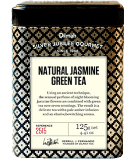 Container of Natural Jasmine Green Tea