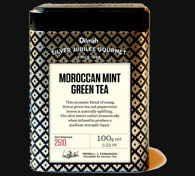 Container of Dilmah Moroccan Mint Green Tea