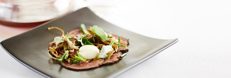 Earl Grey Seared Australian Beef