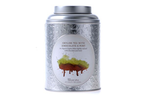 Can of Dilmah Ceylon Tea with Chocolate & Mint