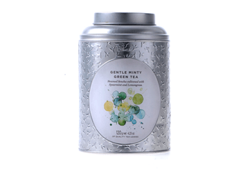Can of Gentle Minty Green Tea by Dilmah