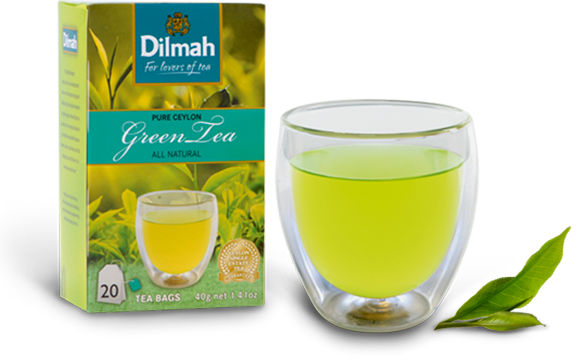 Dilmah Real Fresh Iced Tea Green Tea with Ginger and Honey