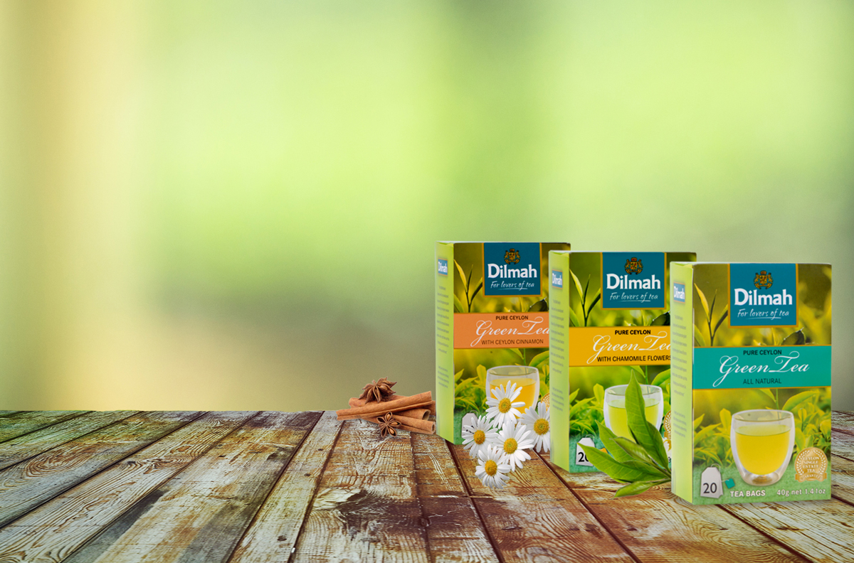Dilmah Pure Ceylon Green Tea - All Naturals