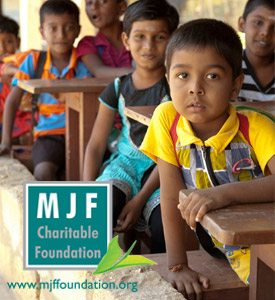 The founding of the MJF Charitable Foundation